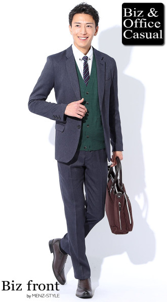 2a2a8d12894661 スーツに合わせるおしゃれな靴とコーデ40例 ネイビースーツ・グレー ...