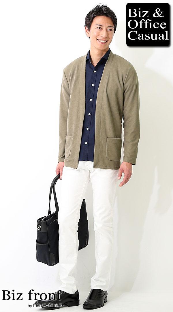 秋服40代男性メンズファッションコーデ例