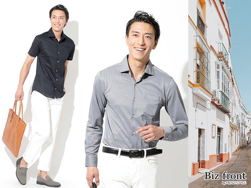 体型 男性 ファッション がっちり